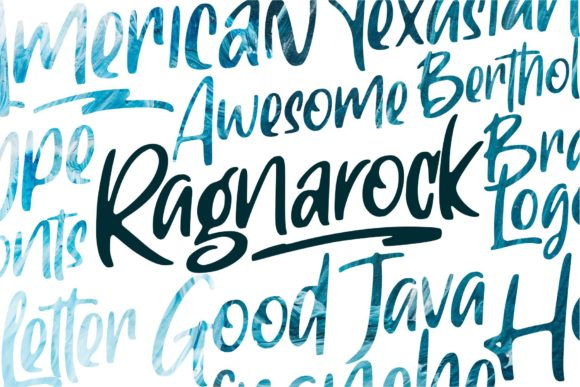 Print on Demand: Ragnarock Display Font By goodjavastudio - Image 10