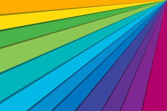 Rainbow Background Graphic By noory.shopper