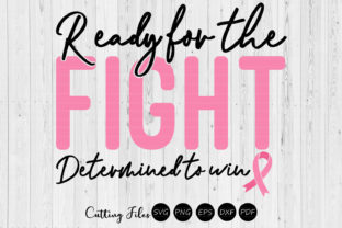 Ready for the Fight   Cancer Awareness   Graphic By HD Art Workshop