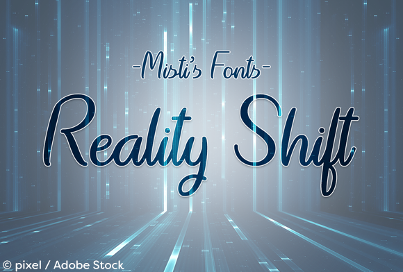Reality Shift Font By Misti Image 1