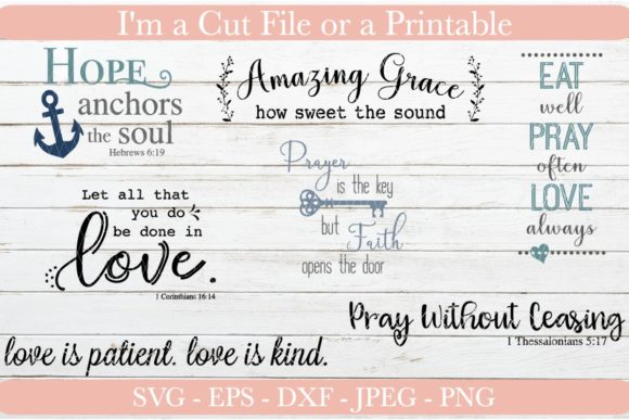 Download Free Religious Bundle Graphic By Designs By Jolein Creative Fabrica for Cricut Explore, Silhouette and other cutting machines.