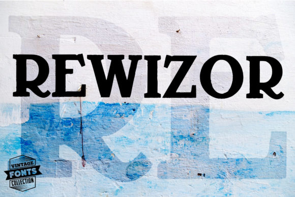 Rewizor Font By grin3 Image 2