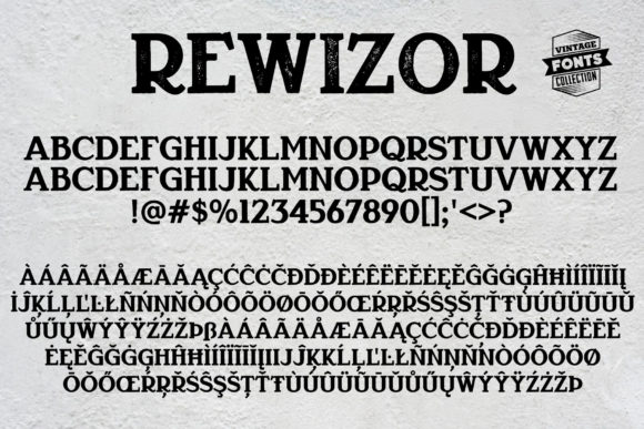 Rewizor Font By grin3 Image 5