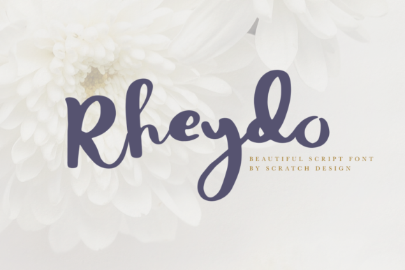 Print on Demand: Rheydo Script & Handwritten Font By Scratch Design - Image 1