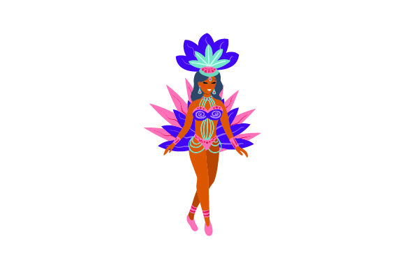 Rio Carnival Women Brazil Craft Cut File By Creative Fabrica Crafts