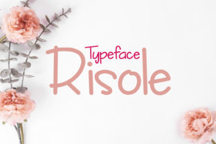 Risole Font By da_only_aan
