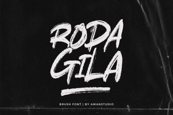 Rodagila Display Font By Awanstudio