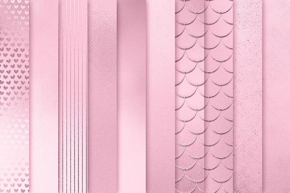 Print on Demand: Rose Textures Graphic Patterns By Creative Paper - Image 3