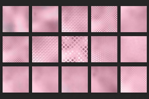 Print on Demand: Rose Textures Graphic Patterns By Creative Paper - Image 4