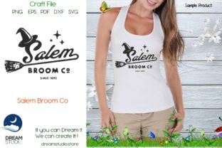 Download Free Salem Broom Co Graphic By Dream Studio Creative Fabrica for Cricut Explore, Silhouette and other cutting machines.