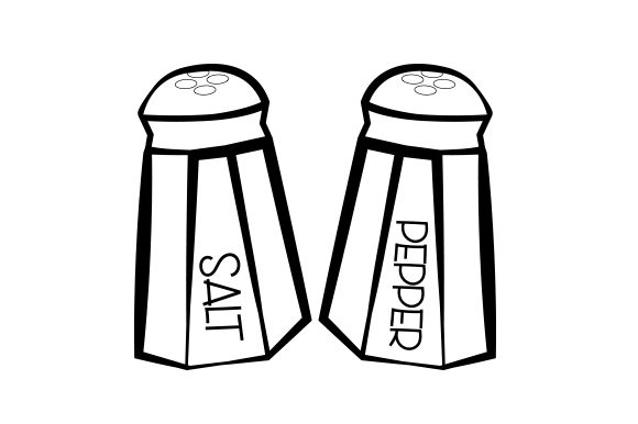 Download Free Salt Pepper Shakers Svg Cut File By Creative Fabrica Crafts for Cricut Explore, Silhouette and other cutting machines.