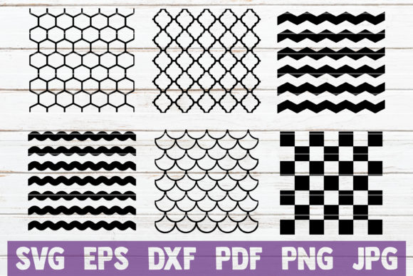 Download Free Seamless Pattern Cut Files Graphic By Mintymarshmallows for Cricut Explore, Silhouette and other cutting machines.