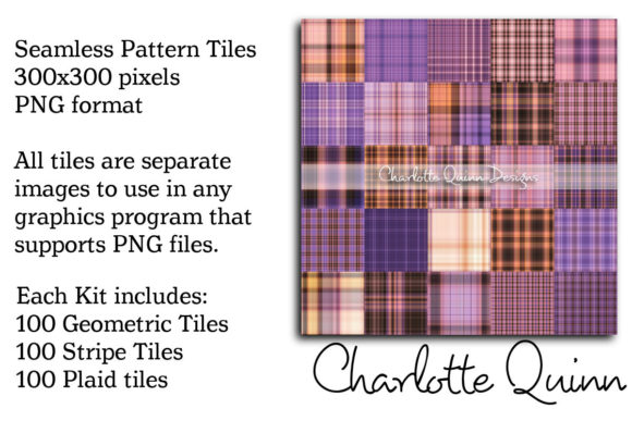 Print on Demand: Seamless Patterns Kit 619-010 Graphic Patterns By Digital Pattern Club