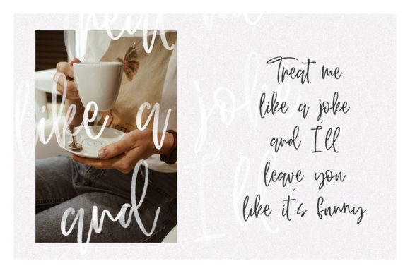 Print on Demand: Second Song Script & Handwritten Font By Dmitrii Chirkov - Image 3