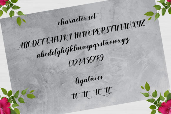 Print on Demand: Shintia Script & Handwritten Font By Rudistudio - Image 5