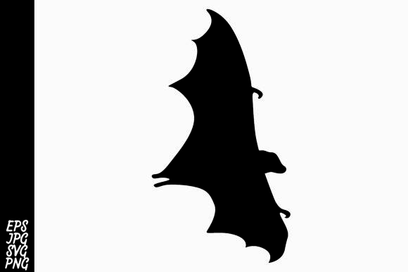 Print on Demand: Silhouette Bat Graphic Crafts By Arief Sapta Adjie - Image 1