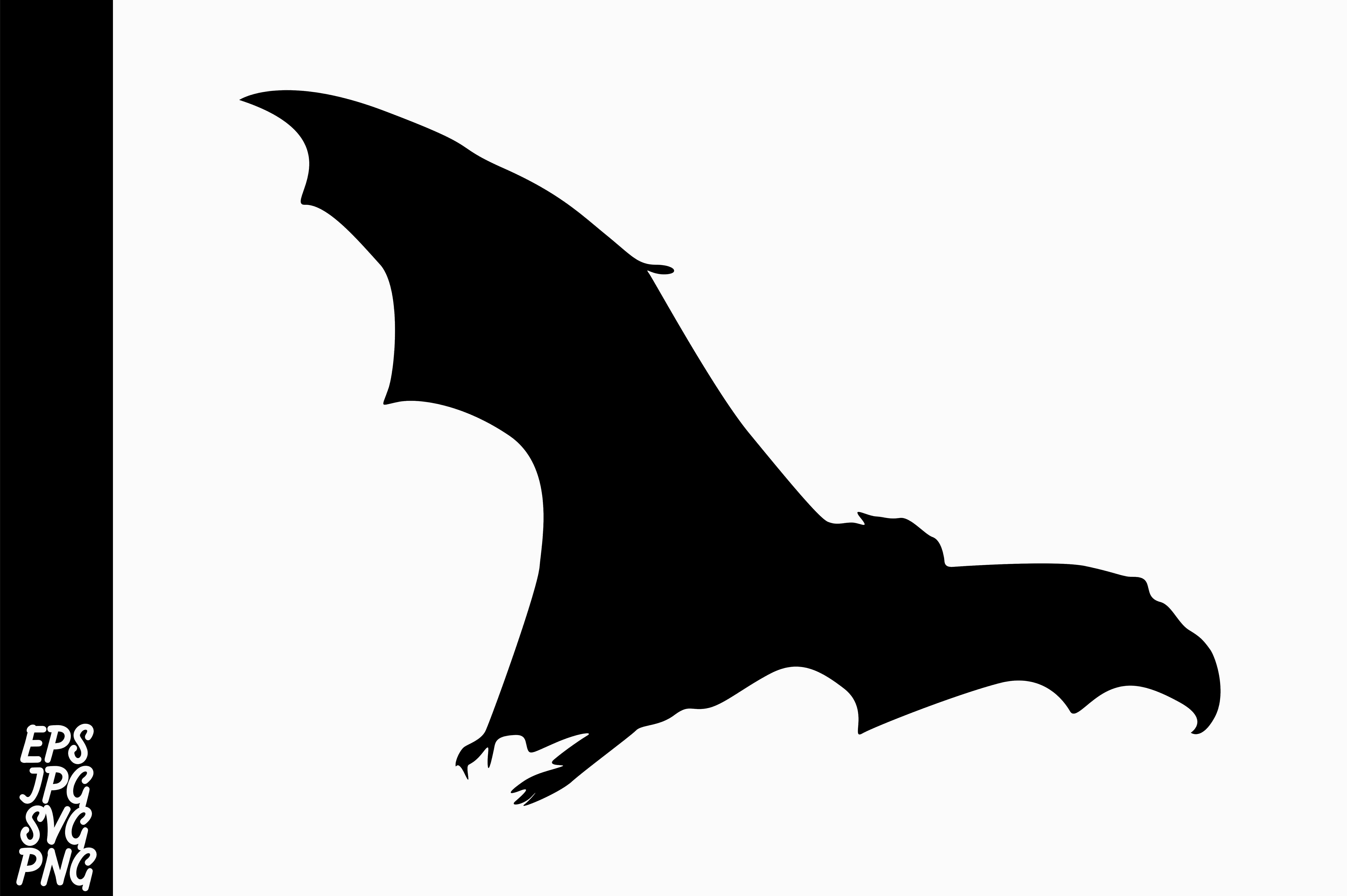 Download Free Silhouette Bat Graphic By Arief Sapta Adjie Creative Fabrica for Cricut Explore, Silhouette and other cutting machines.