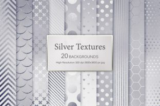 Silver Textures Graphic By artisssticcc
