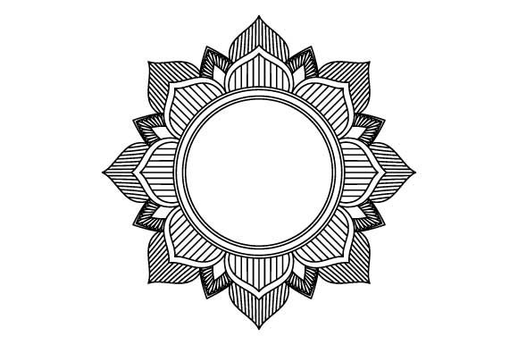 Download Free Simple Mandala For Beginners Graphic By Graphicsfarm Creative for Cricut Explore, Silhouette and other cutting machines.