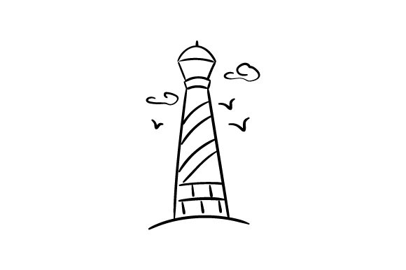 Download Free Simple Nautical Scene Archivos De Corte Svg Por Creative Fabrica for Cricut Explore, Silhouette and other cutting machines.