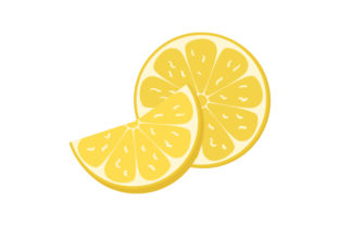 Sliced Lemon Food & Drinks Craft Cut File By Creative Fabrica Crafts