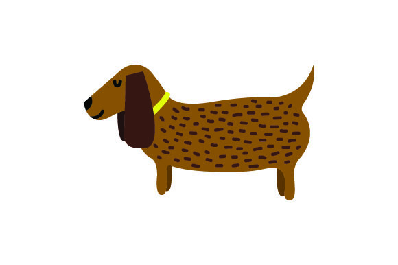 Small Brown Dog Craft Design By Creative Fabrica Crafts