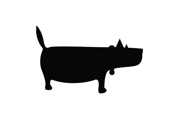 Small Fat Dog Dogs Craft Cut File By Creative Fabrica Crafts - Image 2