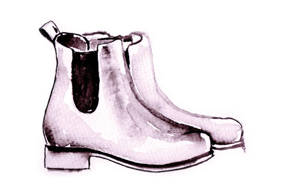 Small Heeled Watercolor Womans Shoes Beauty & Fashion Craft Cut File By Creative Fabrica Crafts