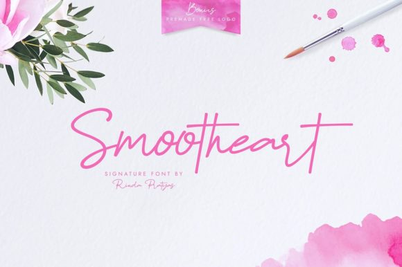 Print on Demand: Smootheart Script & Handwritten Font By Rinda Pratyas