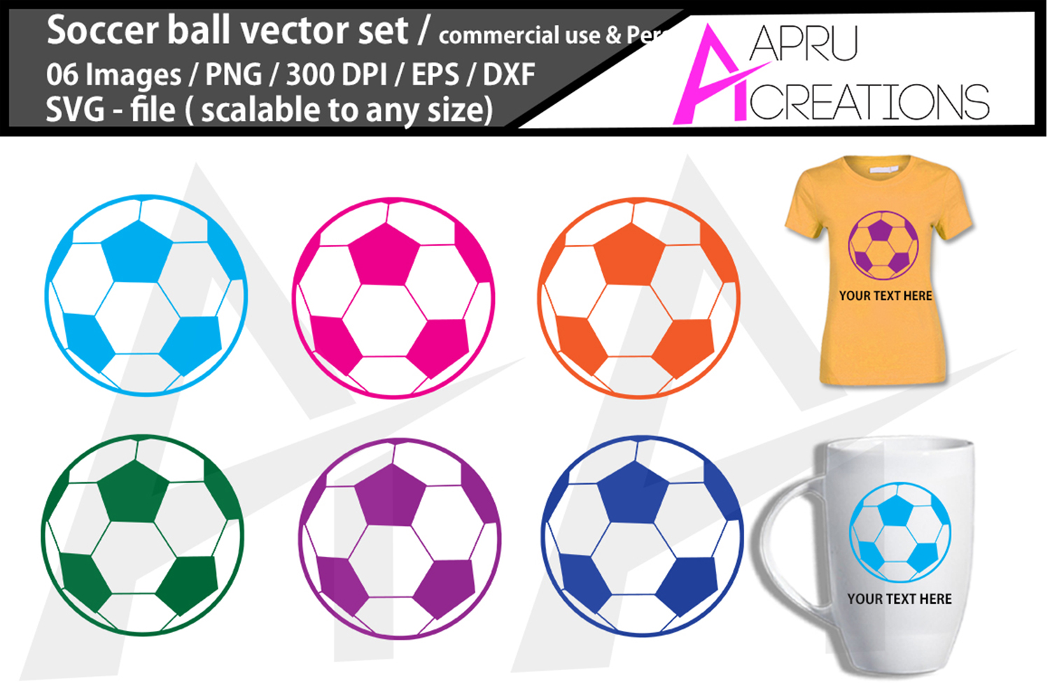 Download Free Soccer Ball Cut File Graphic By Aparnastjp Creative Fabrica for Cricut Explore, Silhouette and other cutting machines.