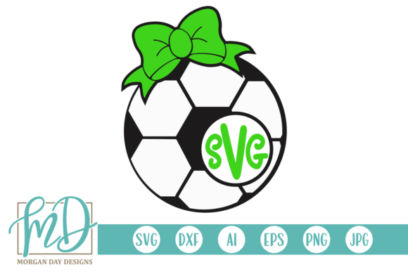 Download Free Soccer Monogram Svg Graphic By Morgan Day Designs Creative Fabrica for Cricut Explore, Silhouette and other cutting machines.