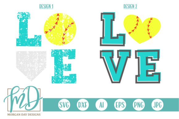 Download Free Leopard Baseball With Heart Graphic By Morgan Day Designs for Cricut Explore, Silhouette and other cutting machines.
