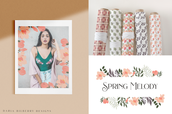 Spring Melody Graphic Illustrations By BilberryCreate - Image 4