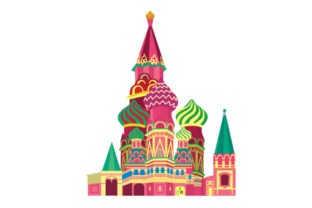 St Basil S Cathedral Craft Design By Creative Fabrica Crafts