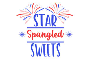 Star Spangled Sweets Craft Design By Creative Fabrica Crafts