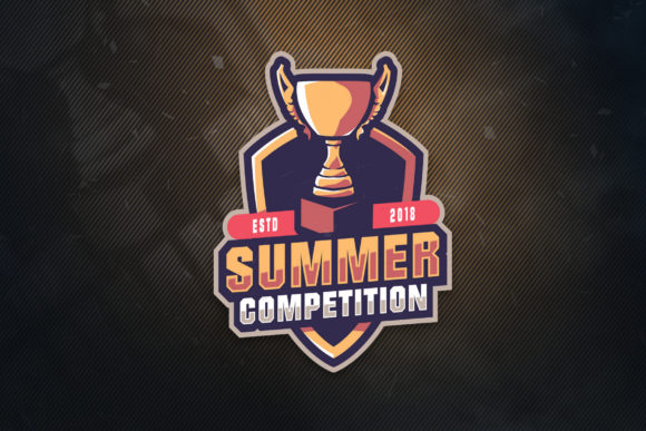 Print on Demand: Summer Competition Sports Logo Graphic Logos By ovoz.graphics