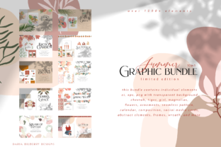 Summer Graphic Bundle Graphic By BilberryCreate