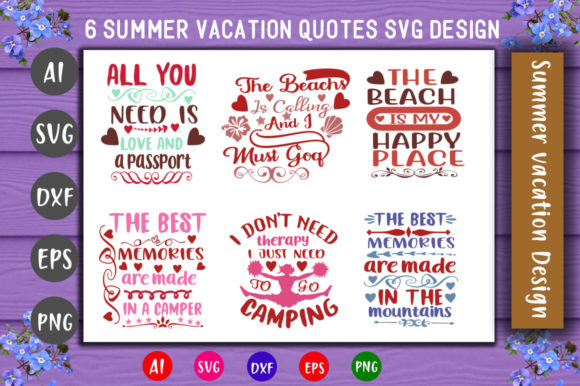 Print on Demand: Summer Bundle Graphic Crafts By CreativeArt
