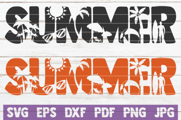 Summer SVG Cut File Graphic Graphic Templates By MintyMarshmallows - Image 1