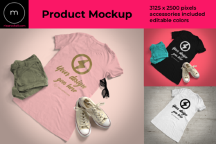 Summer Tee Product Mockup Graphic By RisaRocksIt