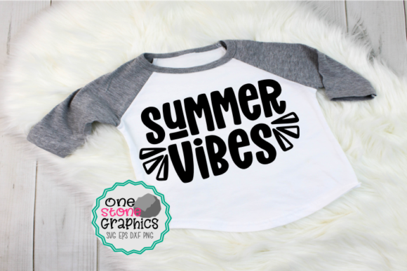 Summer Vibes Svg,summer Vibes Svgs Graphic Crafts By OneStoneGraphics