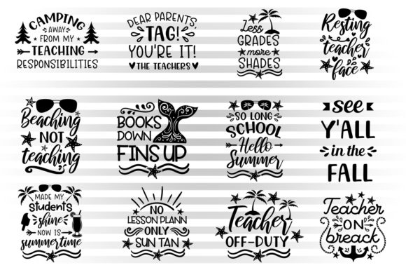 Summer Teacher Bundle Graphic By Illustrator Guru