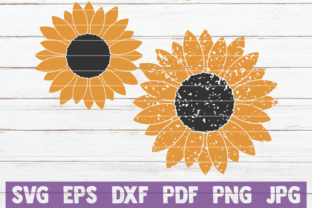 Sunflower SVG Cut Files Graphic By MintyMarshmallows