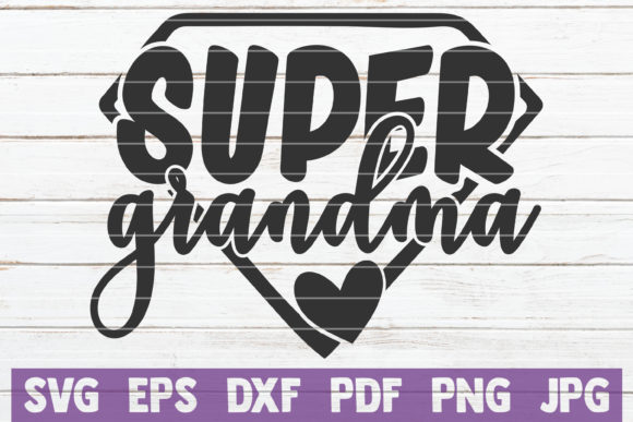 Super Family SVG Bundle Graphic By MintyMarshmallows Image 7