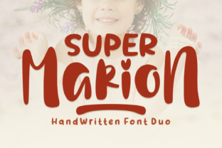 Super Marion Duo Font By Keithzo (7NTypes)