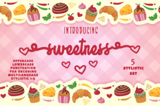 Print on Demand: Sweetness Script & Handwritten Font By Arendxstudio