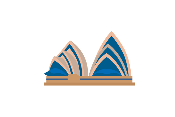 Download Free Sydney Opera House Svg Cut File By Creative Fabrica Crafts for Cricut Explore, Silhouette and other cutting machines.