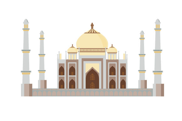 Download Free Taj Mahal Archivos De Corte Svg Por Creative Fabrica Crafts for Cricut Explore, Silhouette and other cutting machines.