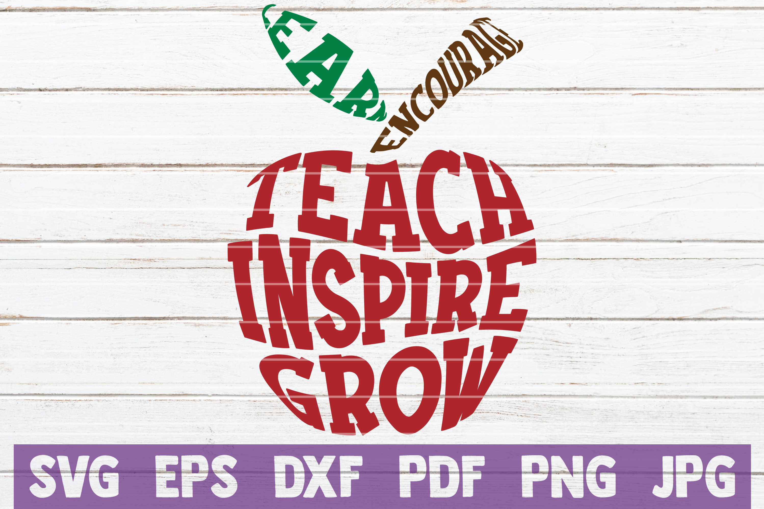 Download Free Teacher Apple Cut File Graphic By Mintymarshmallows Creative SVG Cut Files