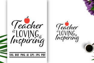 Download Free Teacher Quote Lettering Graphic By Vectorbundles Creative Fabrica for Cricut Explore, Silhouette and other cutting machines.